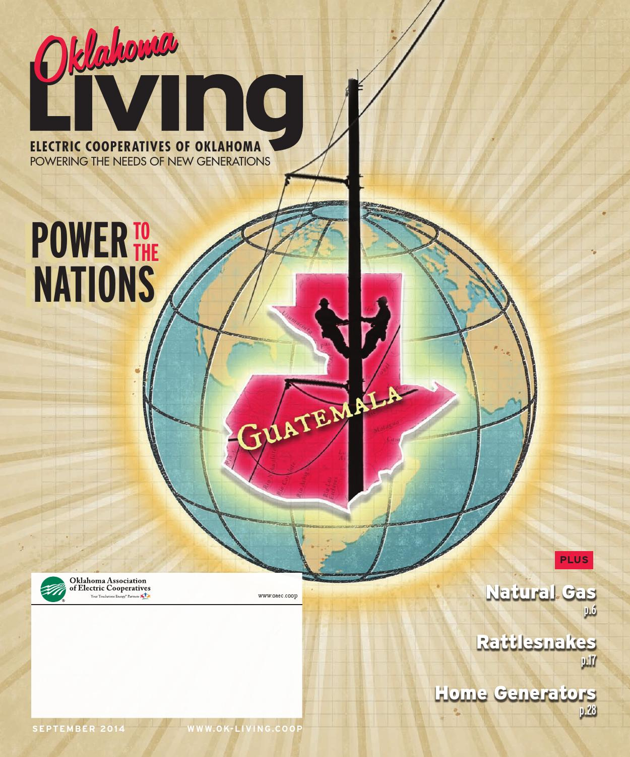 Oklahoma Living September 2014 By American Mainstreet Publications Coleman Thermostat Eldon Rv Wiring Diagram Issuu