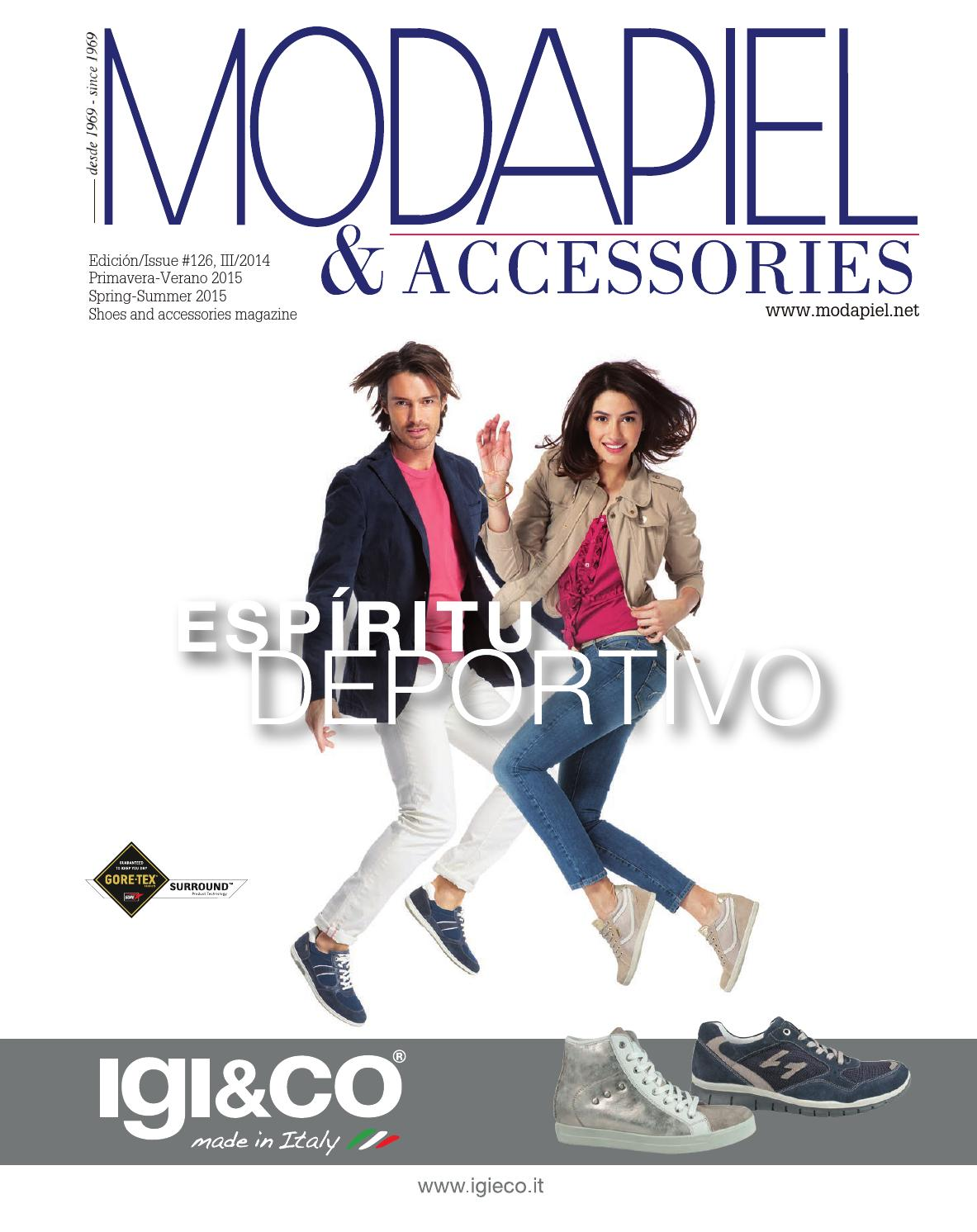 bfa3f06431d05 Modapiel 126 Shoes and accessories magazine by Prensa Técnica S.L. - issuu