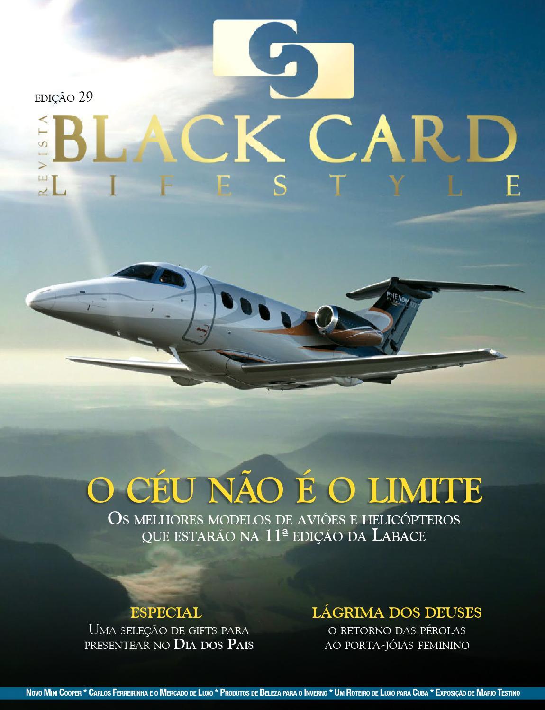 4d33d0229f2c6 Revista Black Card Lifestyle - Edição 29 by Revista BlackCard Lifestyle -  issuu