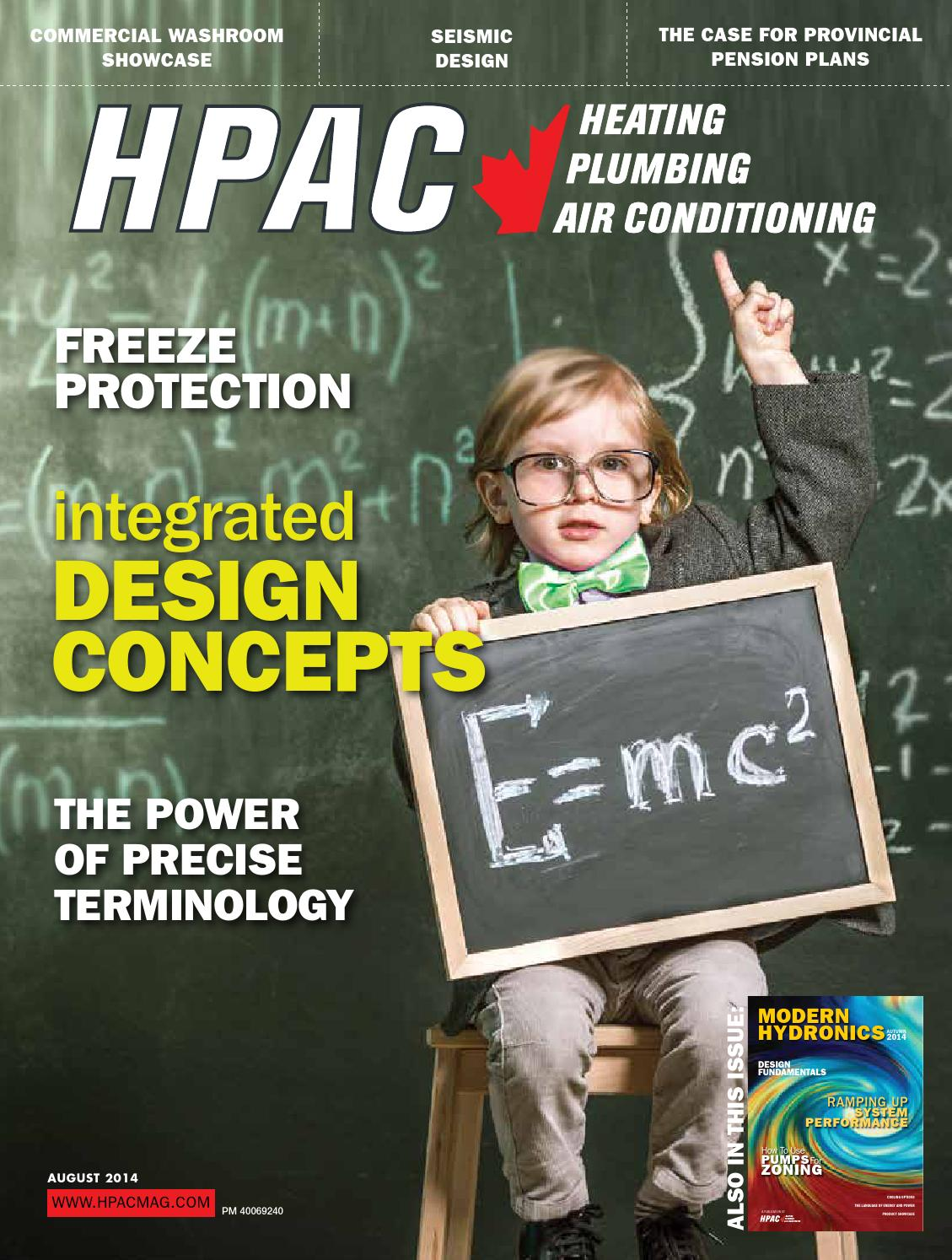 Hpac August 2014 By Annex Newcom Lp Issuu For An Apollo Hydronic Air Handler That Has A Wiring Diagram The Pdf