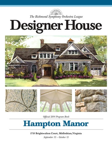 The Richmond Symphony Orchestra League Designer House 2014