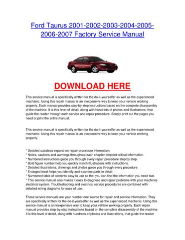 2013 ford lincoln mks workshop repair service manual in pdf