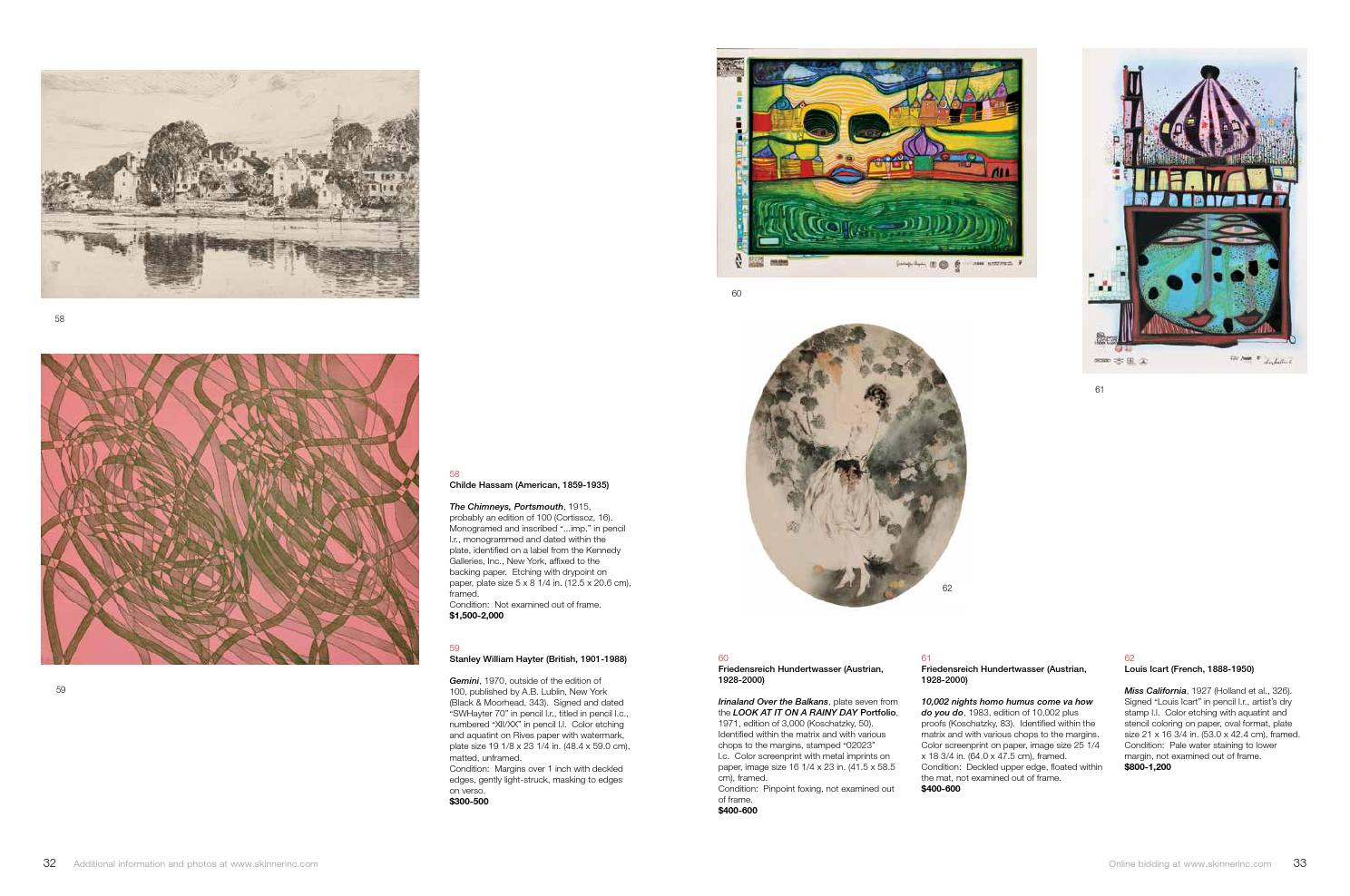 American & European Prints & Photography | Skinner Auction 2749B by Skinner, Inc. - issuu