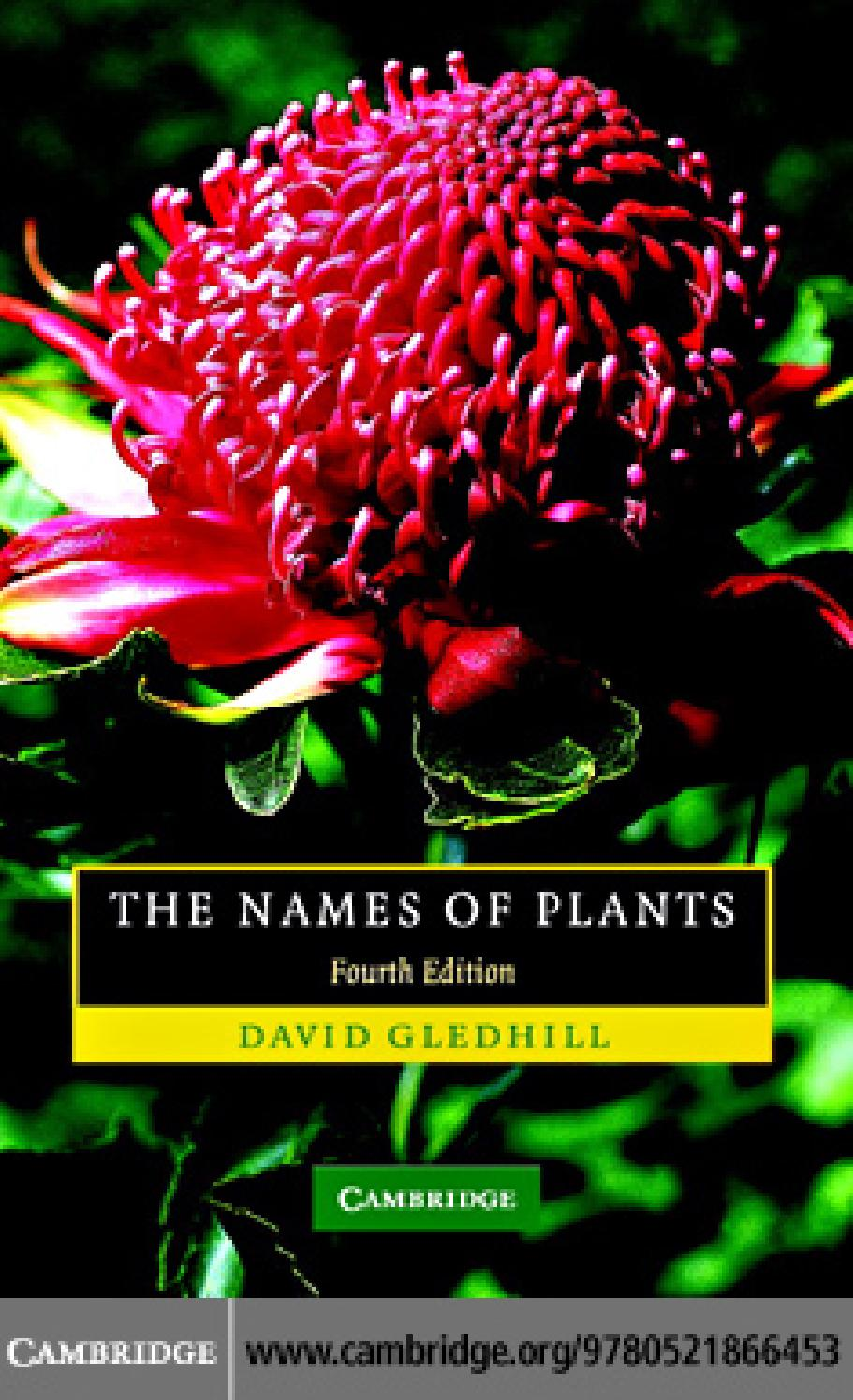 The names of plants by marco acua issuu mightylinksfo