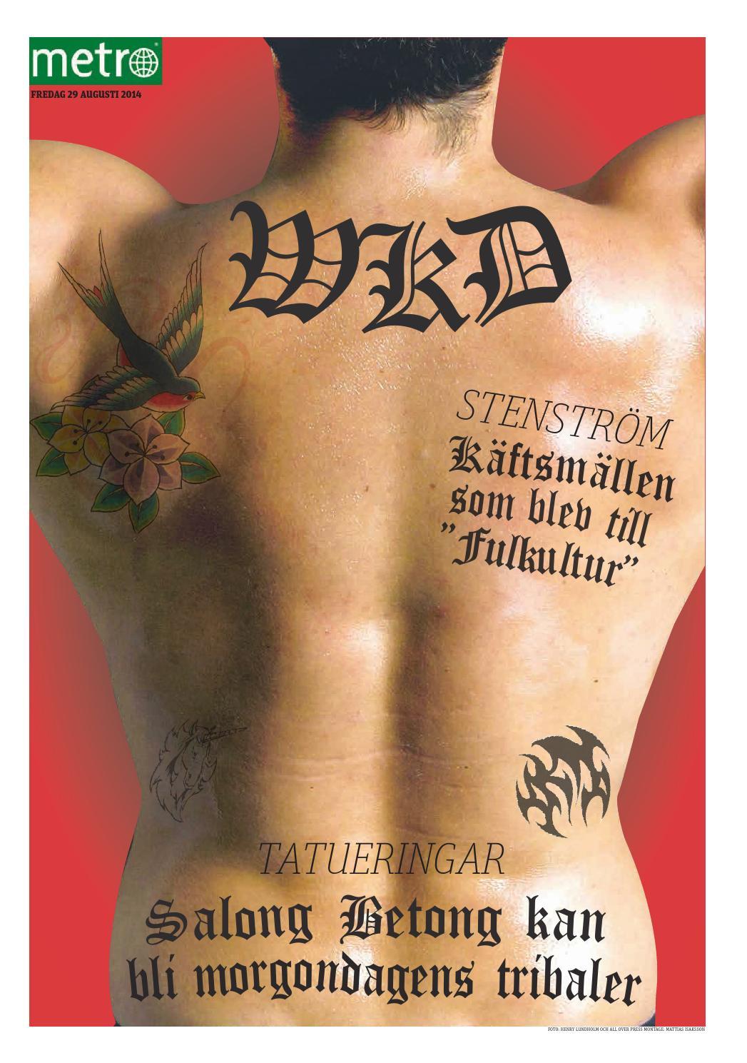 tatueringar ledsagare stor nära Stockholm