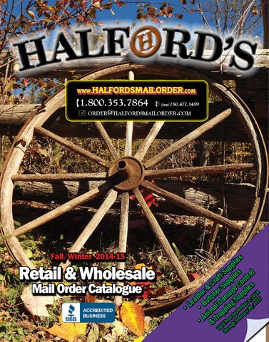 Halford s Fall   Winter 2014 2015 Catalog by Halford s - issuu 9f93ce26fade1