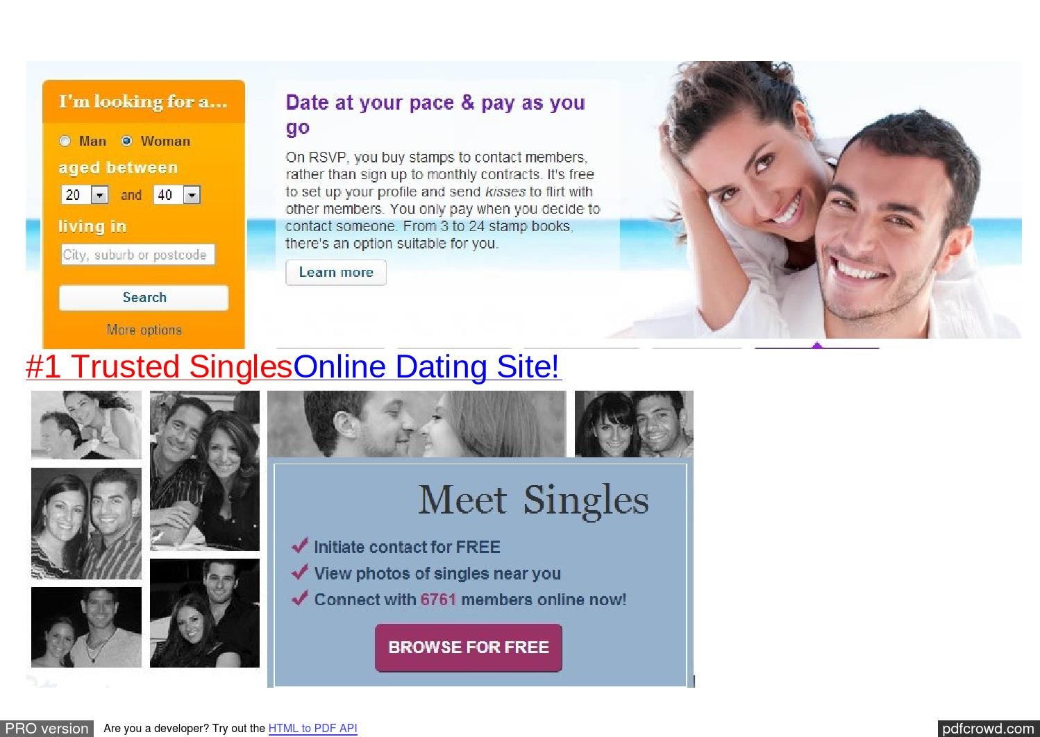 Online dating browse gratis