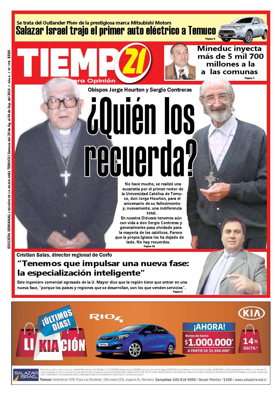 Edici N 298 A Los Obispos Jorge Hourton Y Sergio Contreras Quien  # Muebles Mehuin Rancagua