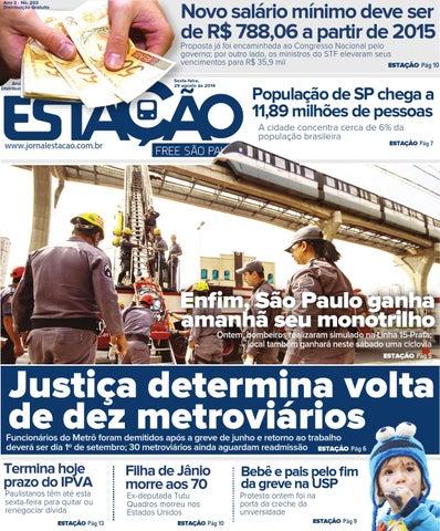 c6642d7603896 Jornal Estação Ed. 202 by Jornal Estação - issuu
