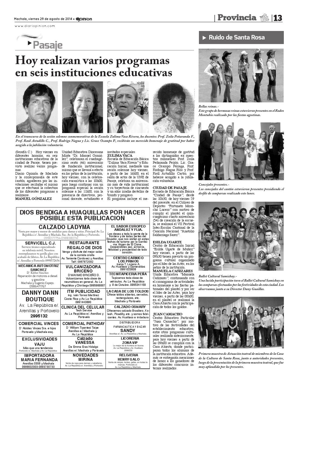 08 Issuu Diario By Impreso 14 Opinion 29 fgvIm6byY7
