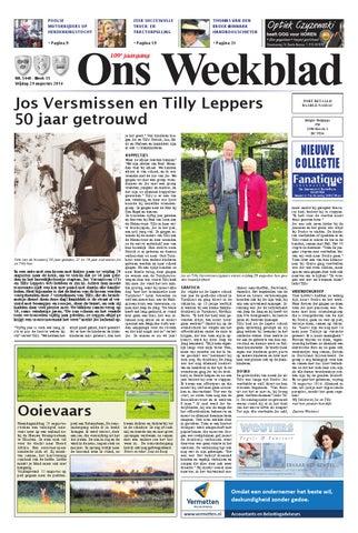 0fe6c04811a Ons Weekblad 29-08-2014 by Uitgeverij Em de Jong - issuu