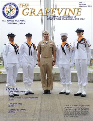 The Grapevine Vol 5 No 5 (May-June 2014) by U  S  Naval