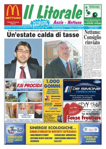 Il litorale n. 15 - 1 15 Settembre 2014 by Il Pontino Il Litorale ... a12f610660