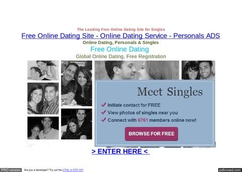 Large dating website
