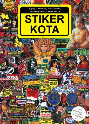 Stiker Kota By Ardi Yunanto Issuu