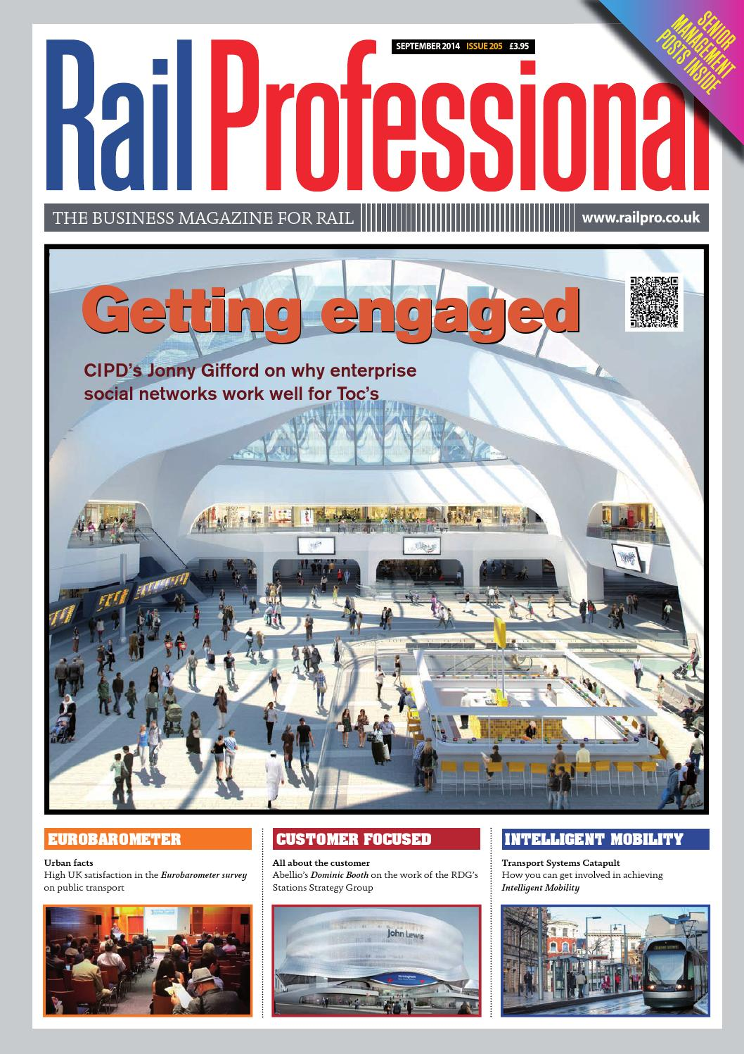 Rail Professional September 2014 issue by Rail Professional Magazine