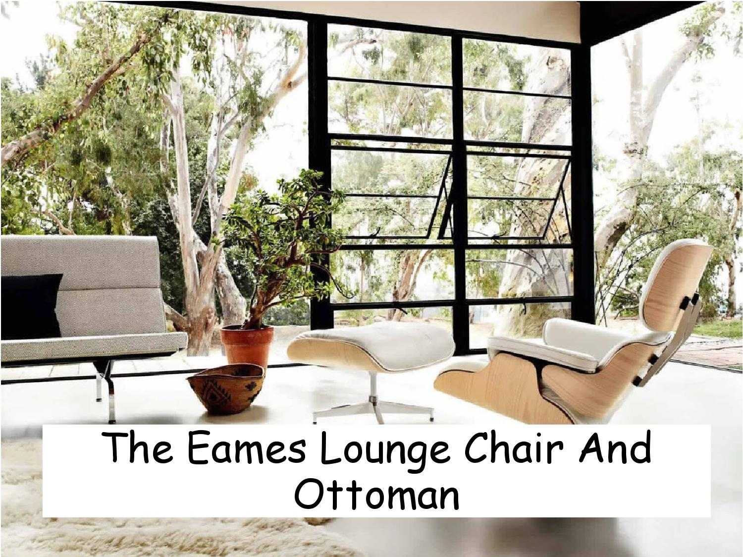 Eames Lounge Chair Living Room the eames lounge chair and ottomanpeter dawson - issuu