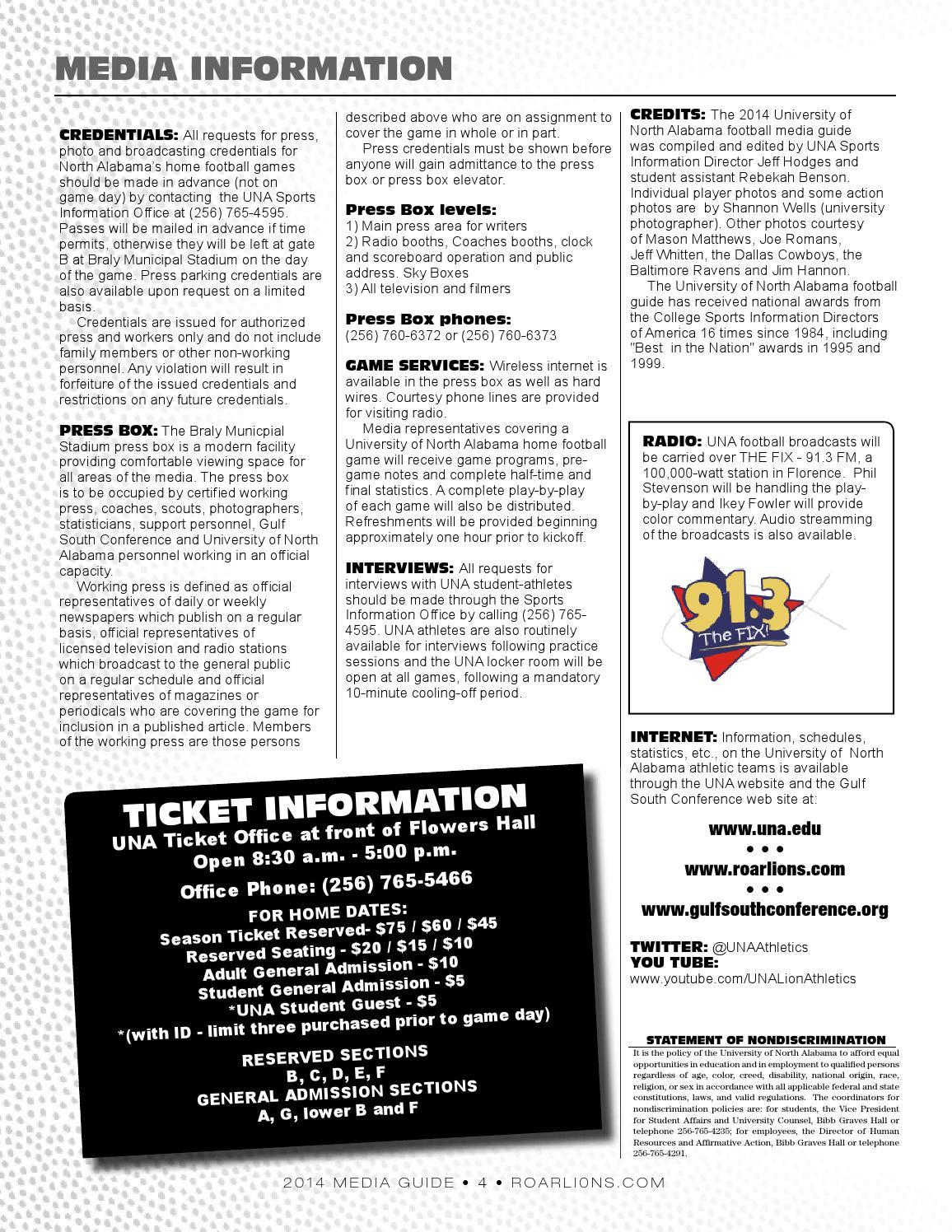 2014 Una Football Media Guide By University Of North Alabama Wiring Sky Box Athletics Issuu