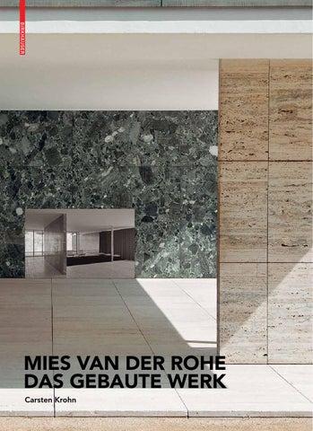 Mies van der Rohe - Das gebaute Werk by Birkhäuser - issuu