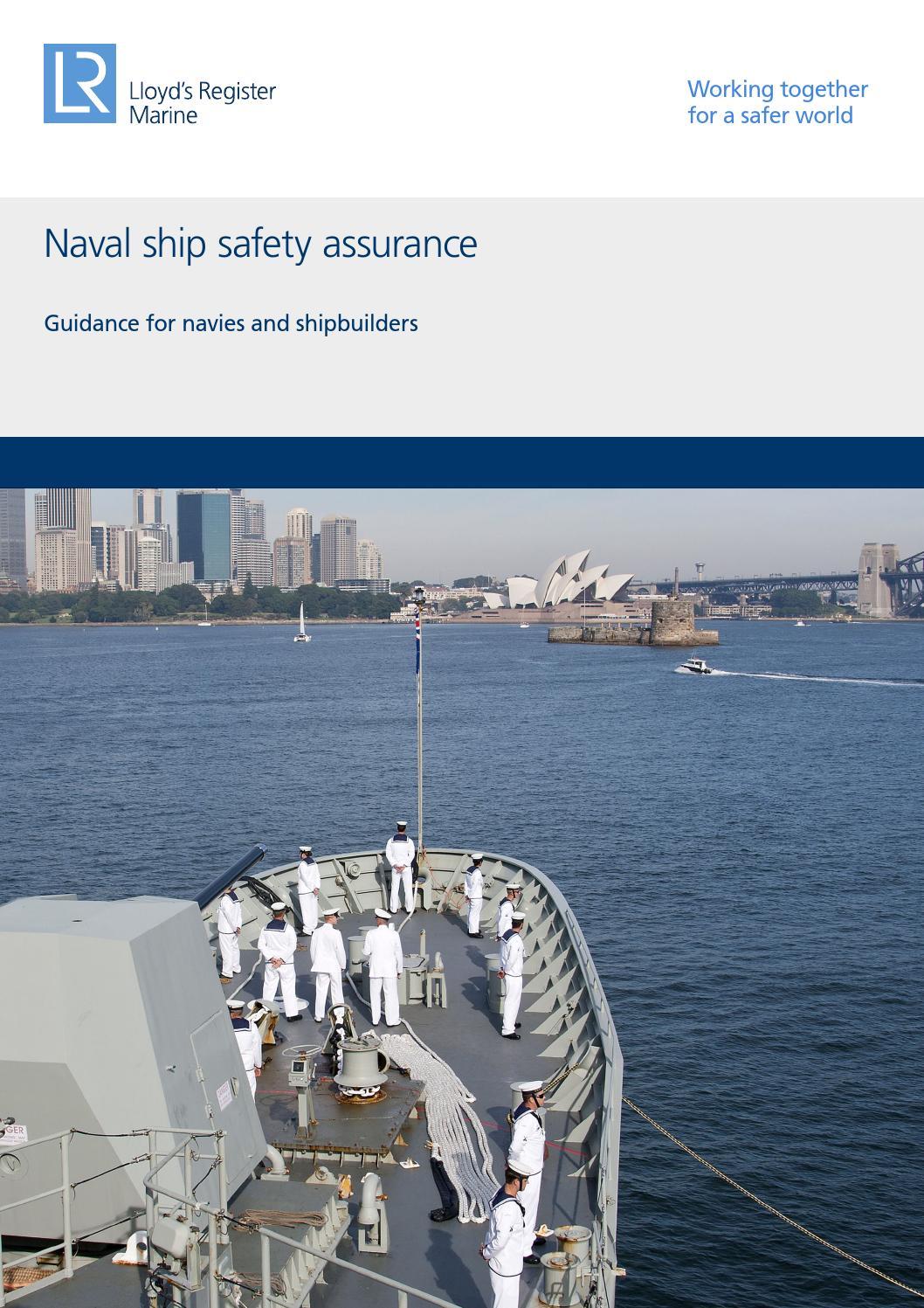 Naval ship safety assurance by Lloyd's Register - issuu