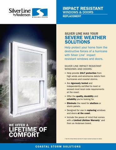 Silver Line Impact Resistant Windows Amp Doors By Horner