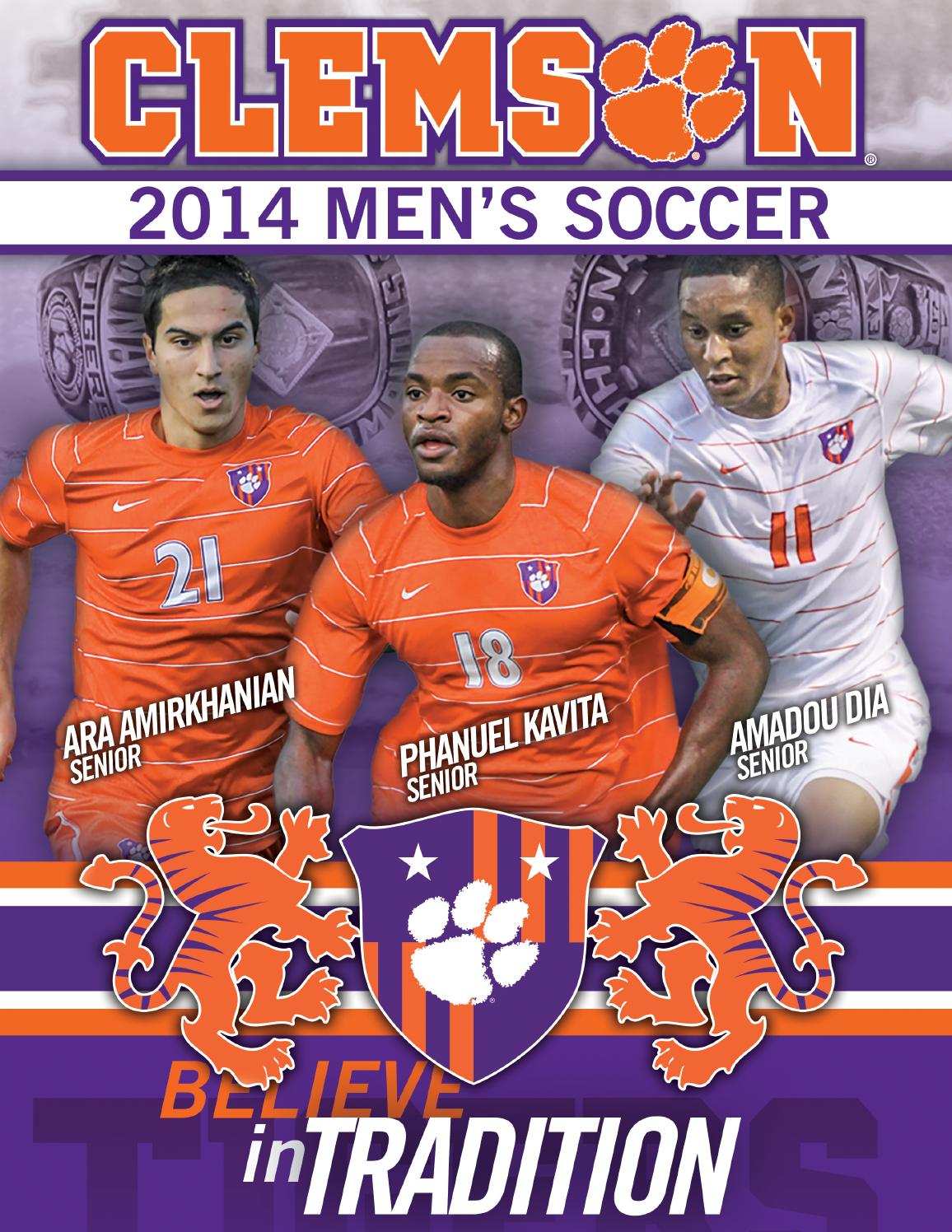 2014 Clemson Men S Soccer Record Book By Clemson Tigers Issuu
