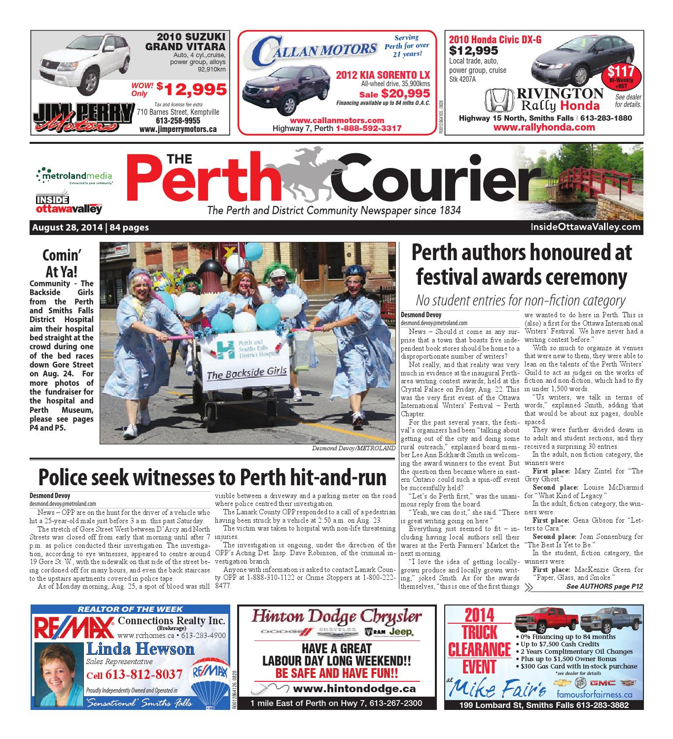 Perth082814 by metroland east the perth courier issuu fandeluxe Images