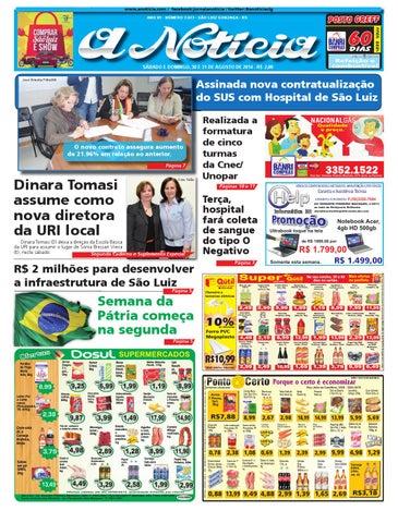 3bb85c35b94 Edição de 30 e 31 de agosto de 2014 by Jornal A Notícia - issuu