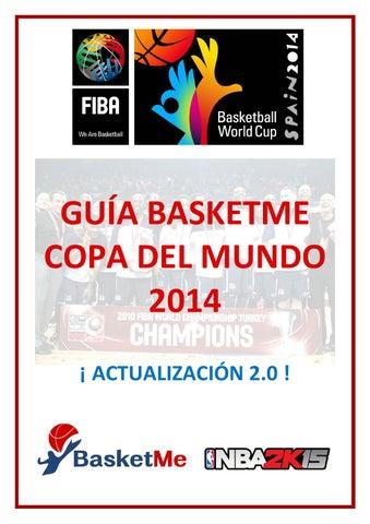 info for 72208 62219 Guía BasketMe Copa del Mundo 2014 - Actualización 2.0 by Xavier ...