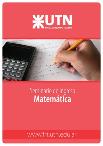 Cartilla Matematica Ingresantes 2015 by relaciones institucionales ...