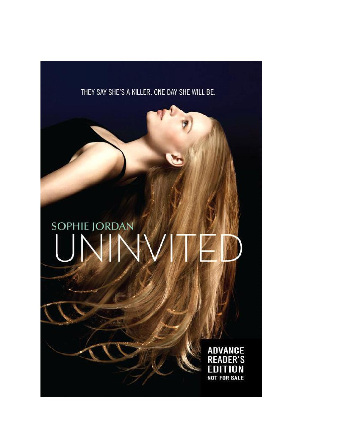 Uninvited by Beatriz Carvalho - issuu 3306fb1194