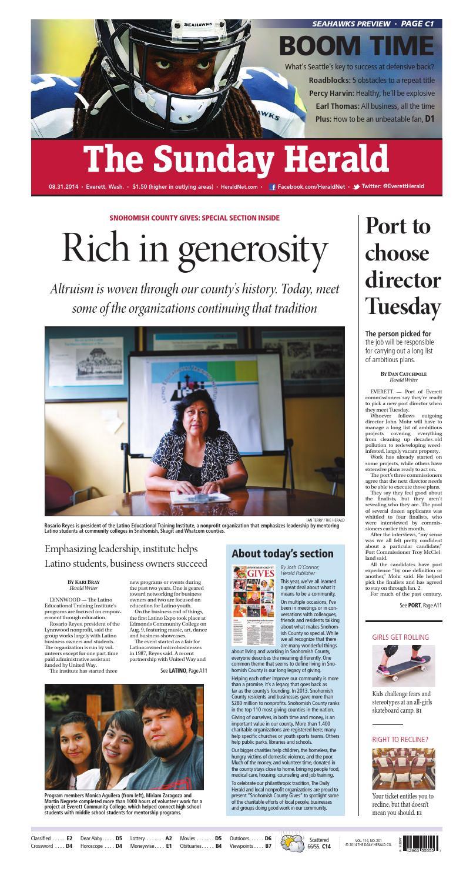 44052ffad67 Everett Daily Herald, August 31, 2014 by Sound Publishing - issuu