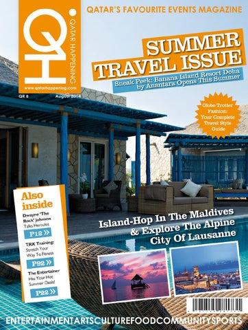 6e9bdf521c0bb Qatar Happening - August 2014 - Summer Travel Issue by Qatar ...