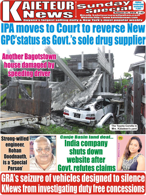 Kaieteur News by GxMedia - issuu