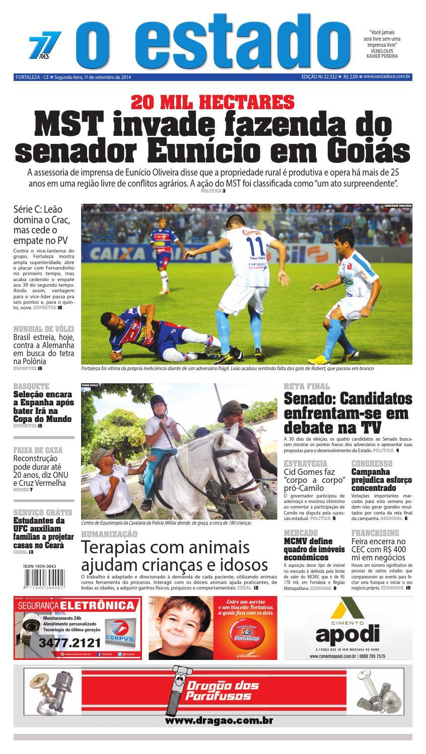 Edição 22332 - 01 de setembro de 2014 by Jornal O Estado (Ceará) - issuu fae518b3dc26a