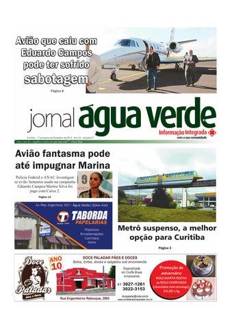 fbecf214776 Jornal Água Verde 1ª quinzena de setembro 2014 by Jornal Água Verde ...