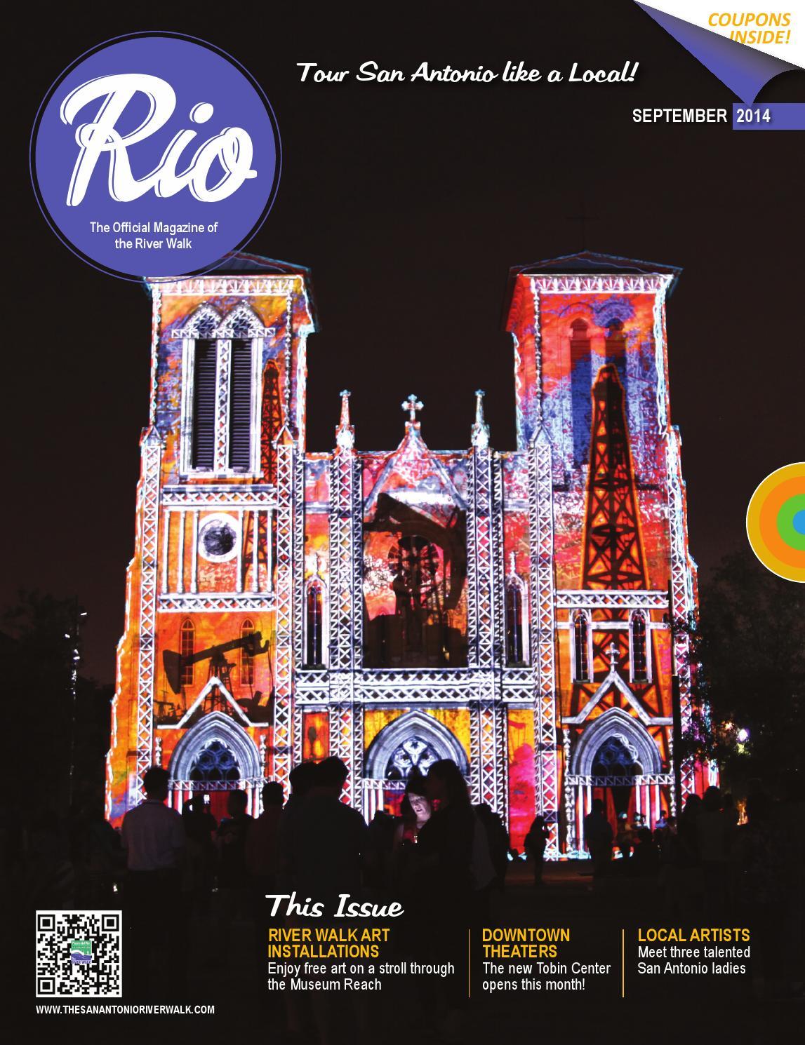 1e77090e88b8ce RIO Magazine September 2014 by Traveling Blender - issuu