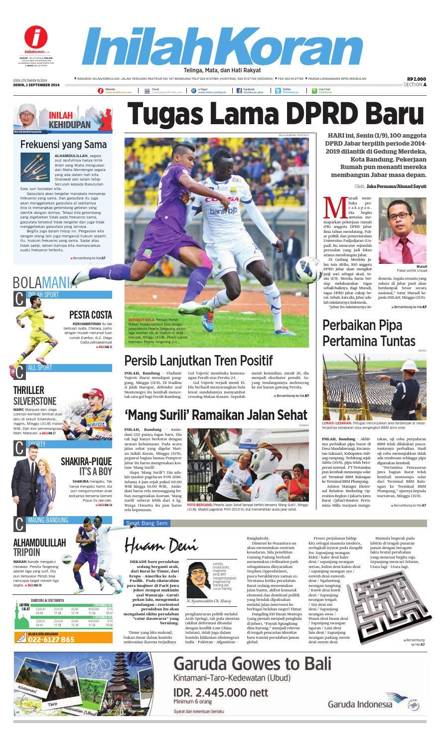 Tugas Lama DPRD Baru by inilah koran - issuu 8288da15ba