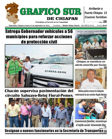 Grafico sur 01 09 14 tapachula by Grafico Sur de Chiapas - issuu f0ef2e17350