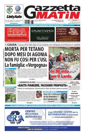 Gazzetta Matin del 1 settembre 2014 by Luca Mercanti - issuu 8a04d134c61