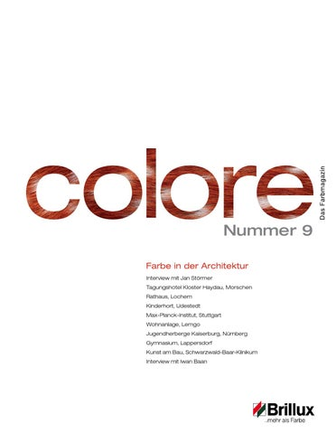 Colore Nr  9 by Brillux - issuu