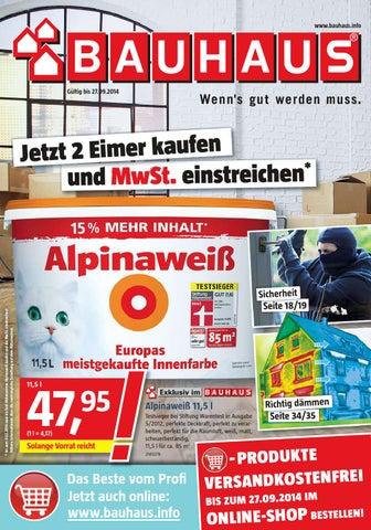Bauhaus angebote 31august 27september2014 by PromoProspekte.de - issuu