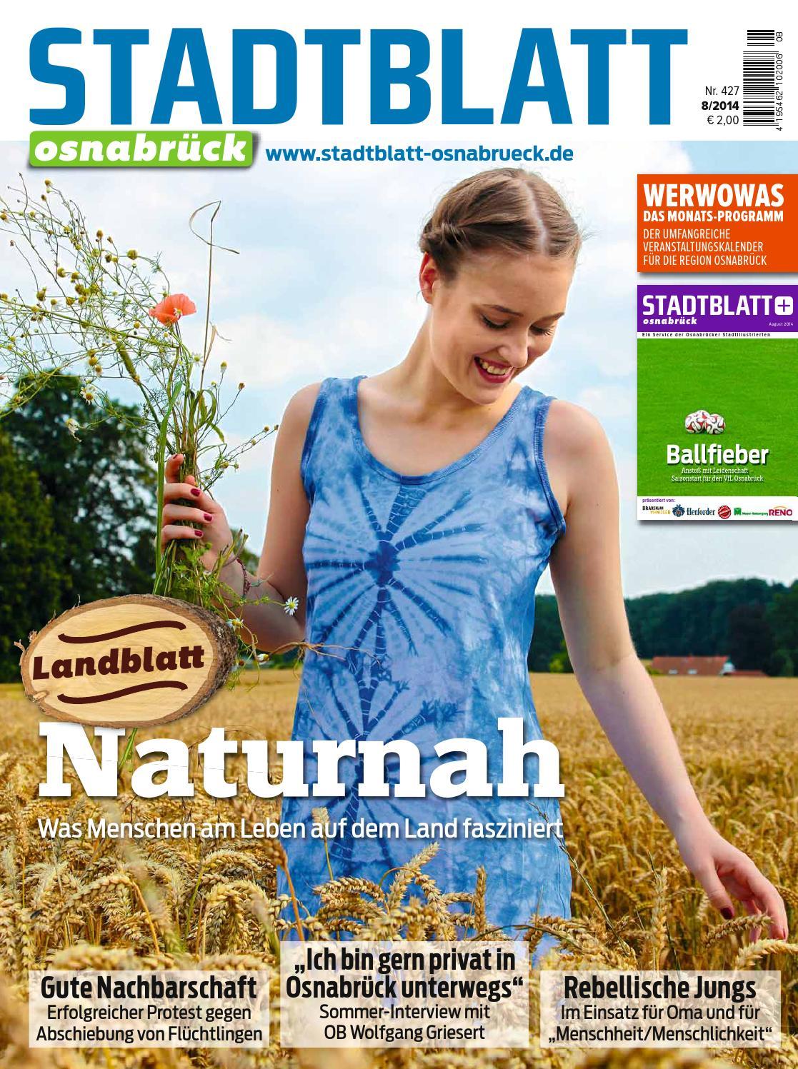 Stadtblatt 2014 08 by bvw werbeagentur - issuu