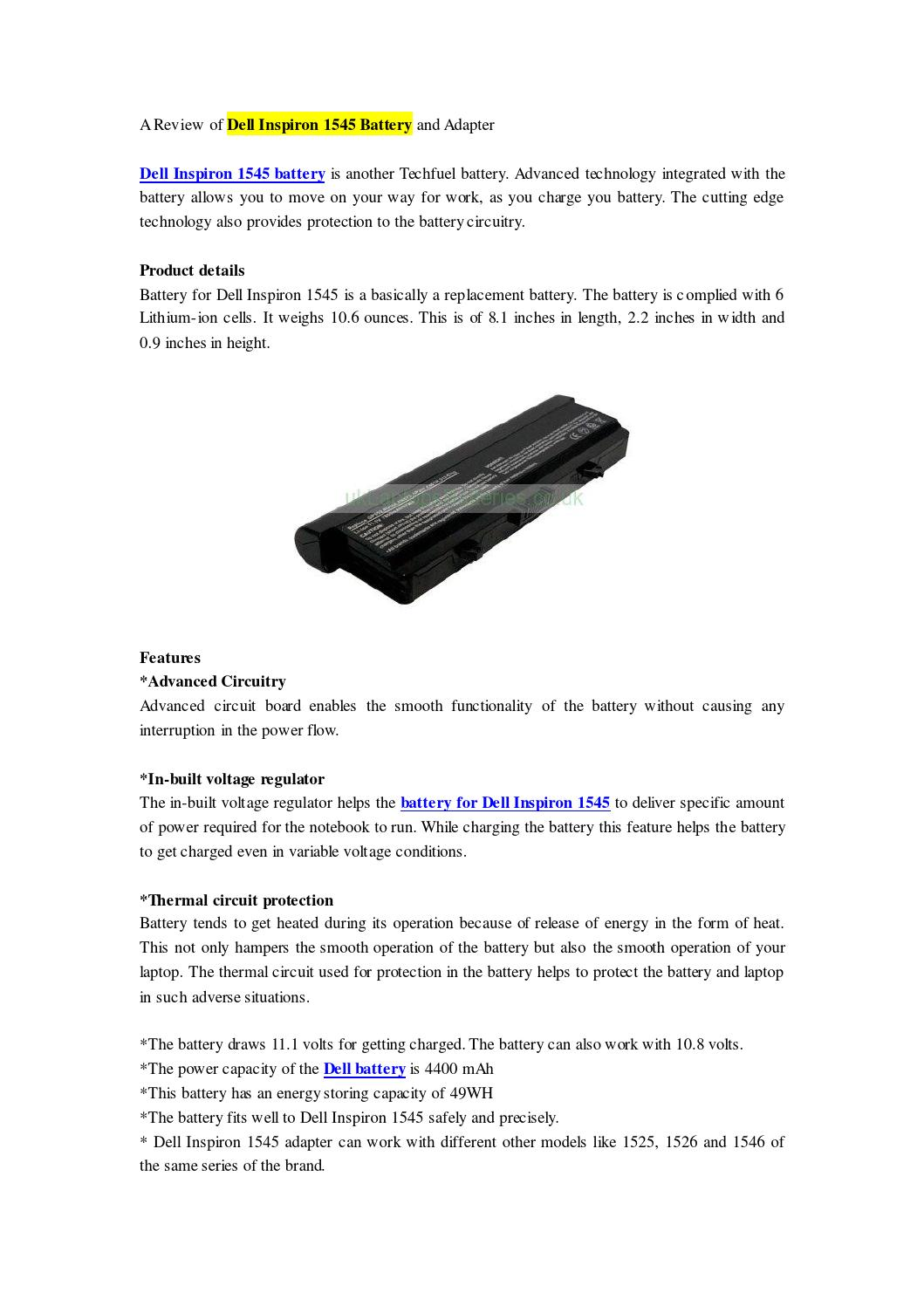 WRG-5531] Wiring Diagram For Dell Laptop Battery