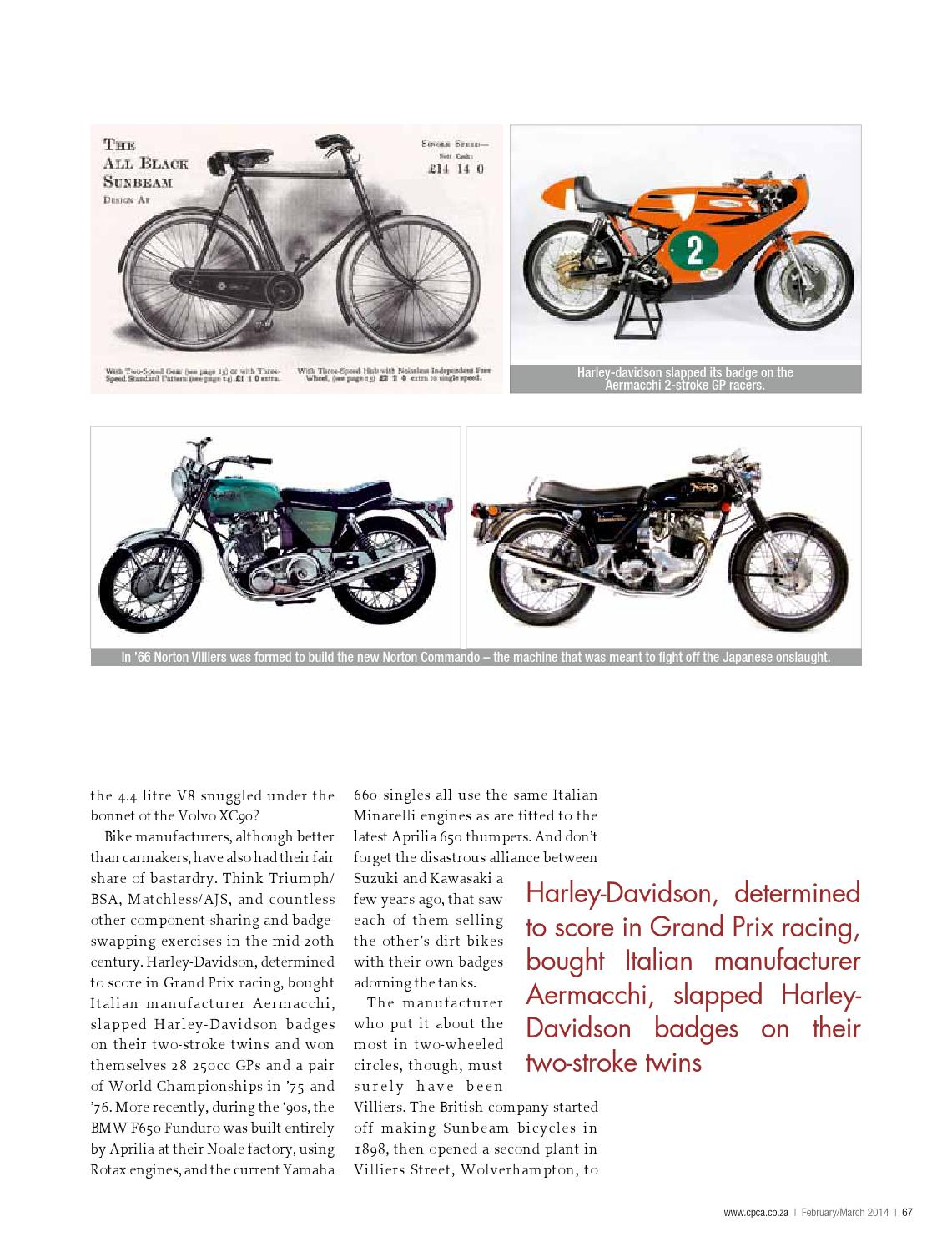 CPCA February/March 2014 by classic & performance car africa - issuu