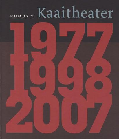 Humus 3 By Kaaitheater Issuu
