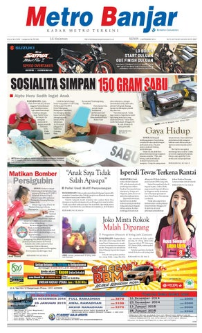 Metro Banjar Senin, 1 September 2014