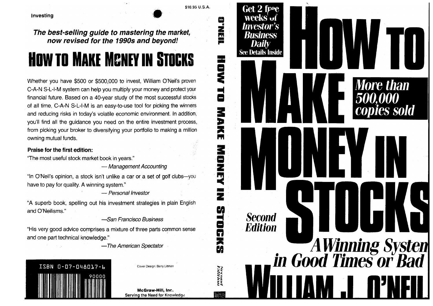 406cf1b70864 William j o neil how to make money in stocks by sivakumar - issuu