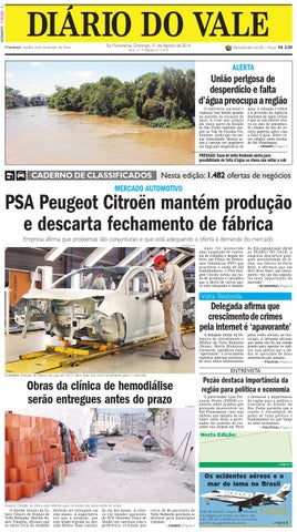 2fdf2c9146351 7412 diario domingo 31 08 2014 by Diário do Vale - issuu