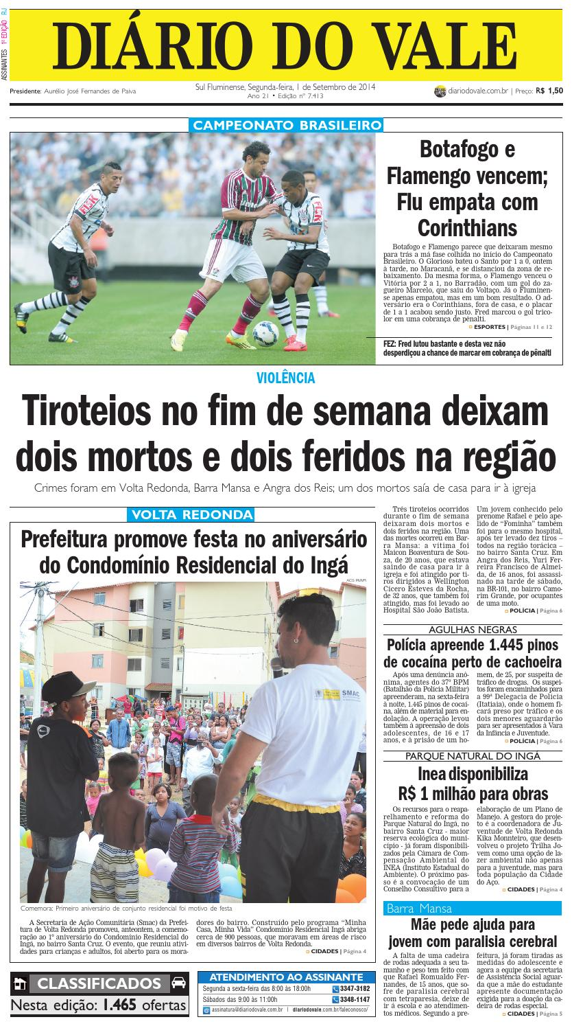 dc37b1d724 7413 diario segunda feira 01 09 2014 by Diário do Vale - issuu